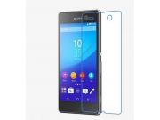 Фирменная оригинальная защитная пленка для телефона Sony Xperia M5 E5603/ M5 Dual E5633 глянцевая..