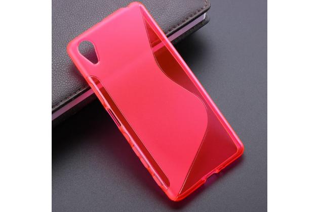 """Фирменная ультра-тонкая полимерная из мягкого качественного силикона задняя панель-чехол-накладка для Sony Xperia X Performance/ X Performance Dual 5.0"""" (F8131/ F8132) розовая"""