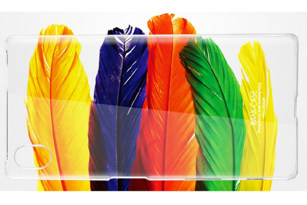 "Фирменная задняя панель-крышка-накладка из тончайшего и прочного пластика для Sony Xperia X Performance/ X Performance Dual 5.0"" (F8131/ F8132) прозрачная"