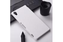 "Фирменная задняя панель-крышка-накладка из тончайшего и прочного пластика для Sony Xperia X Performance/ X Performance Dual 5.0"" (F8131/ F8132) белая"