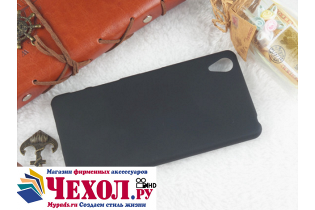 """Фирменная задняя панель-крышка-накладка из тончайшего и прочного пластика для Sony Xperia X Performance/ X Performance Dual 5.0"""" (F8131/ F8132) черная"""