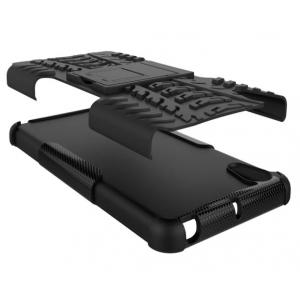 """Противоударный усиленный ударопрочный фирменный чехол-бампер-пенал для Sony Xperia X Performance/ X Performance Dual 5.0"""" (F8131/ F8132) белый"""
