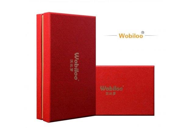 """Фирменный роскошный эксклюзивный чехол с фактурной прошивкой рельефа кожи крокодила и визитницей оранжевый для Sony Xperia X / X Dual 5.0"""" (F5121 / F5122) . Только в нашем магазине. Количество ограничено"""