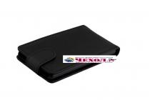 """Фирменный вертикальный откидной чехол-флип для Sony Xperia X / X Dual 5.0"""" (F5121 / F5122) черный"""