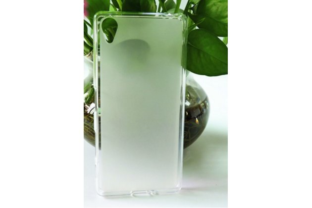 """Фирменная ультра-тонкая полимерная из мягкого качественного силикона задняя панель-чехол-накладка для Sony Xperia X / X Dual 5.0"""" (F5121 / F5122) белая"""