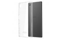 "Фирменная задняя панель-крышка-накладка из тончайшего и прочного пластика для Sony Xperia X / X Dual 5.0"" (F5121 / F5122) прозрачная"
