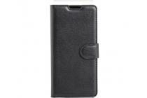 """Фирменный чехол-книжка из качественной импортной кожи с подставкой застёжкой и визитницей для Sony Xperia XA / XA Dual 5.0"""" (F3113/ F3112 / F3115 /E6533) черный"""