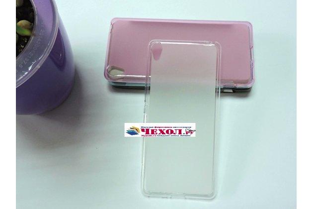 """Фирменная ультра-тонкая полимерная из мягкого качественного силикона задняя панель-чехол-накладка для Sony Xperia XA / XA Dual 5.0"""" (F3113/ F3112 / F3115 /E6533) белая"""