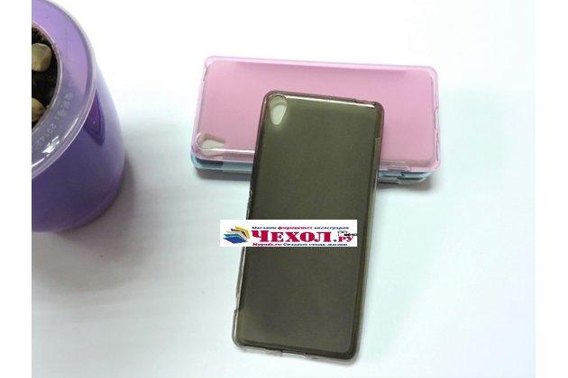 """Фирменная ультра-тонкая полимерная из мягкого качественного силикона задняя панель-чехол-накладка для Sony Xperia XA / XA Dual 5.0"""" (F3113/ F3112 / F3115 /E6533) черная"""