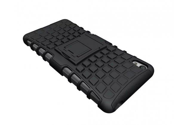 """Противоударный усиленный ударопрочный фирменный чехол-бампер-пенал для Sony Xperia XA / XA Dual 5.0"""" (F3113/ F3112 / F3115 /E6533) черный"""