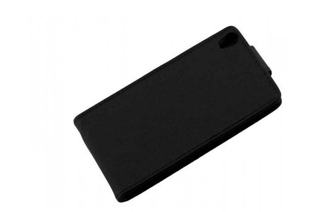 """Фирменный вертикальный откидной чехол-флип для Sony Xperia XA / XA Dual 5.0"""" (F3113/ F3112 / F3115 /E6533) черный"""
