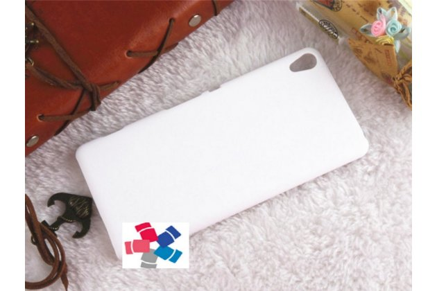 "Фирменная задняя панель-крышка-накладка из тончайшего и прочного пластика для Sony Xperia XA / XA Dual 5.0"" (F3113/ F3112 / F3115 /E6533) белая"