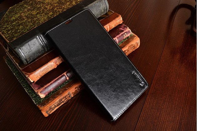 Чехол-книжка для Sony Xperia Z Ultra C6802/C6833 черный кожаный