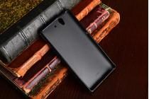"""Фирменная необычная уникальная из легчайшего и тончайшего пластика задняя панель-чехол-накладка для Sony Xperia Z C6602/C6603 (L36h) """"тематика Лев"""""""