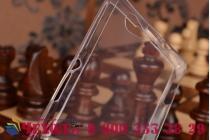 Фирменная ультра-тонкая полимерная из мягкого качественного силикона задняя панель-чехол-накладка для Sony Xperia Z1 Compact D5503 белая