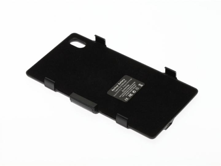 Чехол-бампер со встроенной усиленной мощной батарей-аккумулятором большой повышенной расширенной ёмкости 3200m..