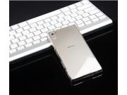 Фирменная задняя панель-крышка-накладка из тончайшего и прочного пластика для Sony Xperia Z4 /Z3+ прозрачная..