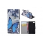 Фирменный уникальный необычный чехол-книжка для Sony Xperia Z5 compact E5803/E5823/ Z5 Compact Premium 4.6