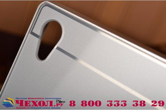 Фирменная для Sony Xperia Z5 / Z5 Dual Sim E6603/E6633 5.2 металлическая задняя панель-крышка-накладка из тончайшего облегченного авиационного алюминия серебристая