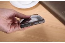 """Фирменная ультра-тонкая полимерная из мягкого качественного силикона задняя панель-чехол-накладка для  Sony Xperia Z5 compact E5803 E5823/ Z5 Compact Premium 4.6""""  серая"""