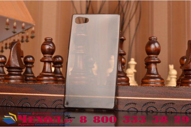 """Фирменная ультра-тонкая полимерная из мягкого качественного силикона задняя панель-чехол-накладка для  Sony Xperia Z5 compact E5803 E5823/ Z5 Compact Premium 4.6"""" черная"""