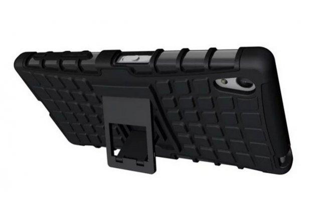Противоударный усиленный ударопрочный фирменный чехол-бампер-пенал для Sony Xperia Z5 / Z5 Dual Sim E6603/E6633 5.2 зеленый