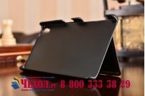 """Фирменная роскошная элитная премиальная задняя панель-крышка для Sony Xperia Z5 / Z5 Dual Sim E6603/E6633 5.2""""  из качественной кожи буйвола с визитницей черная"""