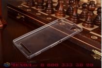 Фирменная ультра-тонкая из мягкого качественного силикона задняя панель-чехол-накладка для Sony Xperia T2 Ultra/ T2 Ultra Dual D5303/D5322 белая