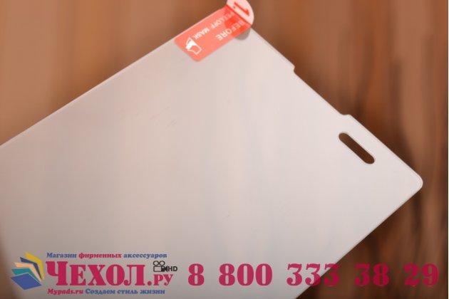 Фирменное защитное закалённое противоударное стекло премиум-класса из качественного японского материала с олеофобным покрытием для Sony Xperia T2 Ultra dual D5322