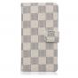 Фирменный чехол-книжка из кожи с мульти-подставкой застёжкой и визитницей для Sony Xperia Z4 Compact белый в к..