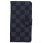 Фирменный чехол-книжка из кожи с мульти-подставкой застёжкой и визитницей для Sony Xperia Z4 Compact черный в ..