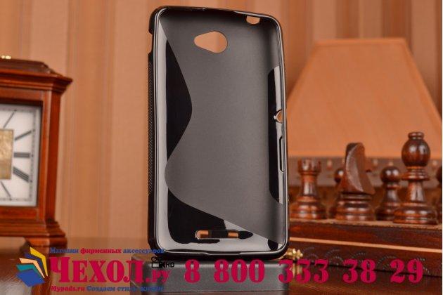 Фирменная ультра-тонкая полимерная из мягкого качественного силикона задняя панель-чехол-накладка для Sony Xperia E4/ E4 Dual E2105/E2115 черная