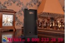 Фирменная задняя панель-крышка-накладка из тончайшего и прочного пластика для Sony Xperia E4G/ E4G Dual E2003/E2033 черная