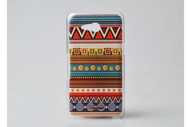 Фирменная роскошная задняя панель-чехол-накладка с безумно красивым расписным эклектичным узором на Sony Xperia E4G/ E4G Dual E2003/E2033