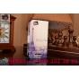 Фирменный уникальный необычный чехол-подставка с визитницей кармашком для Sony Xperia M1/Xperia M Dual С1905