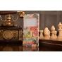 Фирменный чехол-книжка с безумно красивым расписным рисунком марок на Sony Xperia T3 D5102/D5103 с окошком для..