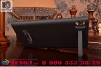 Чехол-бампер со встроенной усиленной мощной батарей-аккумулятором большой повышенной расширенной ёмкости 3200mAh для Sony Xperia Z3 D6603/ Z3 Dual D6633 черный + гарантия