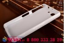 Фирменная ультра-тонкая полимерная из мягкого качественного силикона задняя панель-чехол-накладка для Sony Xperia Z3 Compact D5803 белая
