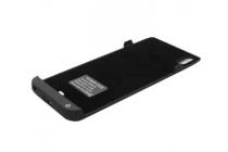 Чехол со встроенной усиленной мощной батарей-аккумулятором большой повышенной расширенной ёмкости 3500 mAh для Sony Xperia Z4 /Z3+ /Z3+ Dual черный пластиковый + гарантия