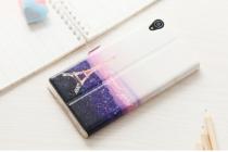"""Фирменный уникальный необычный чехол-подставка с окошком для вызовов для Sony Xperia Z5 Premium / Z5 Premium Dual E6853 / E6883 5.5""""   """"тематика Франция"""""""