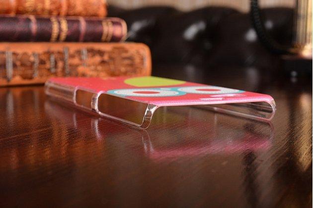 Фирменная роскошная задняя-панель-накладка на Sony Xperia Z1 Compact D5503 розовая сова