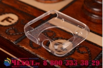 Фирменный ультра-тонкий силиконовый чехол-кейс-пенал для умных смарт-часов Apple Watch 38mm прозрачный