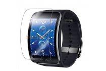 Фирменная оригинальная защитная пленка для умных смарт-часов Samsung Gear S глянцевая