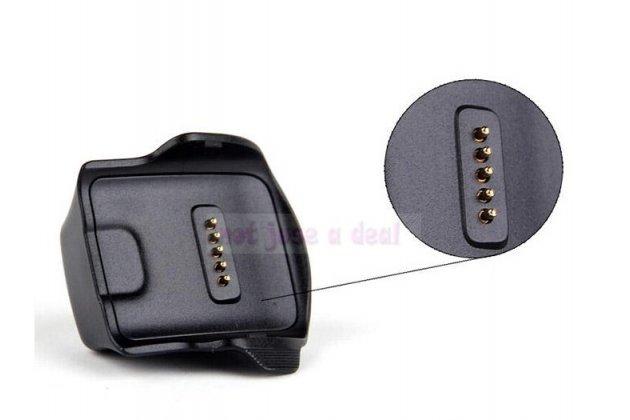 Фирменное оригинальное USB-зарядное устройство/док-станция для умных смарт-часов Samsung Gear Fit SM-R350 + гарантия
