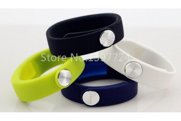 Фирменный сменный цветной ремешок для спортивного браслета Sony SmartBand SWR10. Цвет в ассортименте