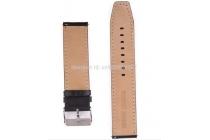 Фирменный сменный кожаный ремешок для умных смарт-часов Samsung Gear 2 из качественной импортной кожи
