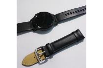 Фирменный сменный кожаный ремешок для умных смарт-часов Samsung Gear S2 Classic R7320 из качественной импортной кожи + инструменты для вскрытия
