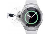 Фирменное защитное закалённое противоударное стекло премиум-класса из качественного японского материала с олеофобным покрытием для часов Samsung Gear S2/S2 Classic R720 / R7320