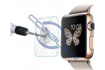 Фирменное защитное закалённое противоударное стекло премиум-класса из качественного японского материала с олеофобным покрытием для часов Apple Watch 42mm