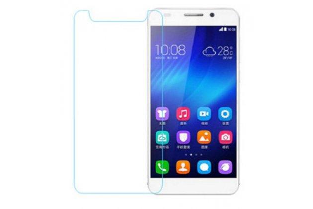 Защитное закалённое противоударное стекло премиум-класса с олеофобным покрытием совместимое и подходящее на телефон Huawei Y3 (2018)